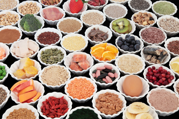 Gezondheid voedsel groot eiwit super Stockfoto © marilyna