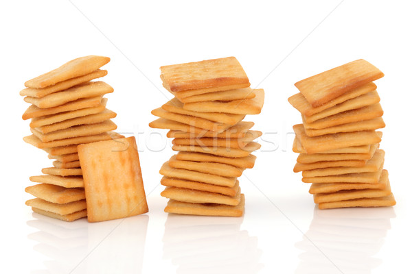 Cheese Cracker Biscuits Stock photo © marilyna