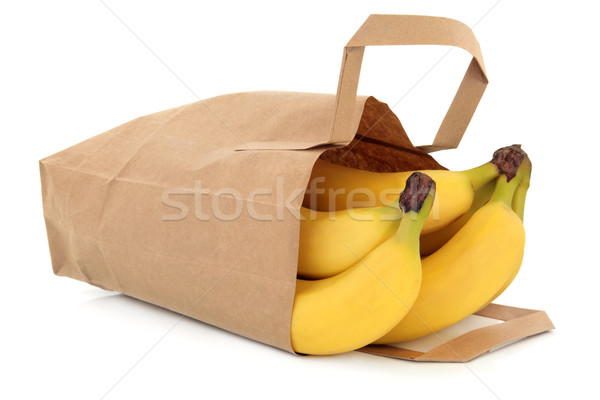 Bananas in a Bag Stock photo © marilyna