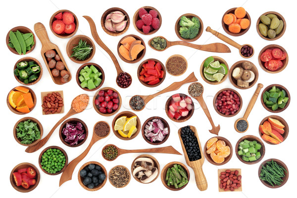 Health and Super Food Sampler Stock photo © marilyna