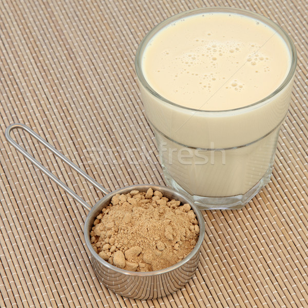 Maca Powder and Drink  Stock photo © marilyna