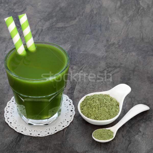 Wheat Grass Health Drink Stock photo © marilyna