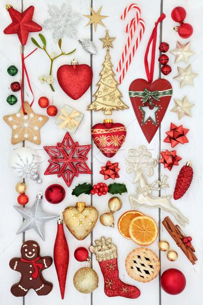 Festive Christmas Decorations  Stock photo © marilyna