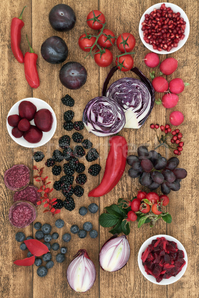 Healthy Food High in Anthocyanins Stock photo © marilyna