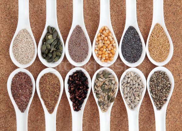 здоровья продовольствие семени белый Сток-фото © marilyna
