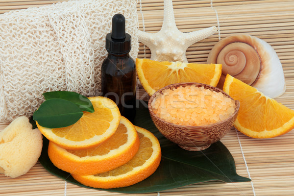 Orange Fruit Spa Stock photo © marilyna