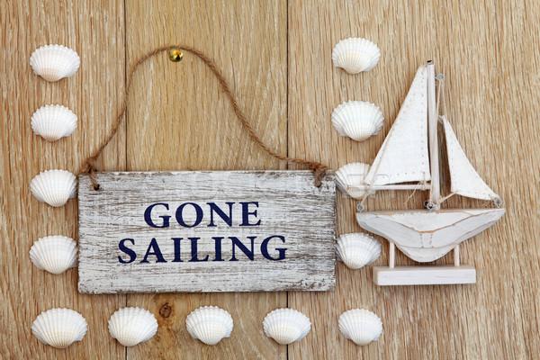 Gone Sailing Stock photo © marilyna