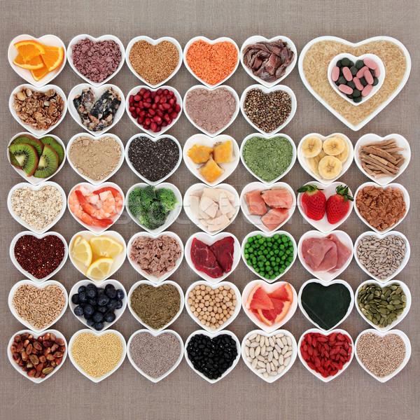 Health Food Sampler Stock photo © marilyna
