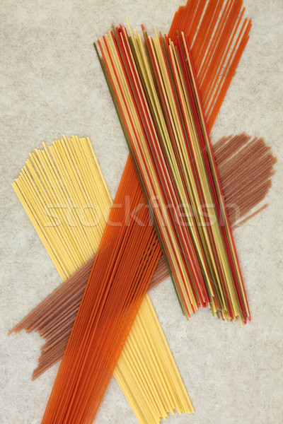 Dried Spaghetti Abstract Stock photo © marilyna