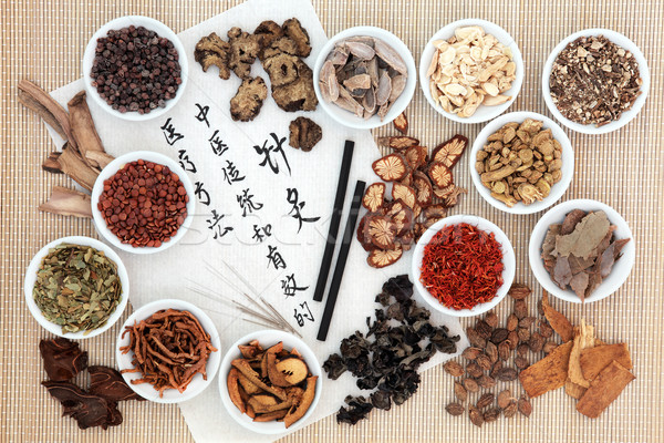 Acupuncture Chinese Medicine Stock photo © marilyna