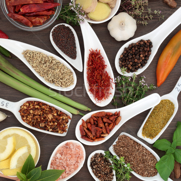 Culinary Spice and Herb Seasoning Stock photo © marilyna