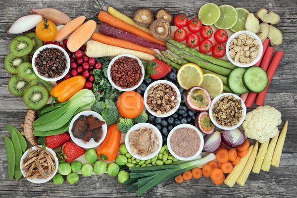 Healthy Super Food Sampler Stock photo © marilyna