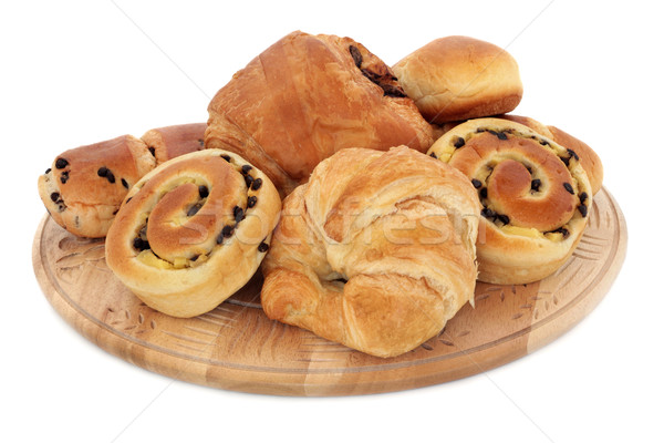 Croissant and Brioche Buns Stock photo © marilyna