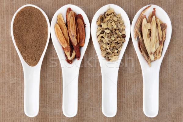 Liquirizia Spice cinese polvere miele Foto d'archivio © marilyna
