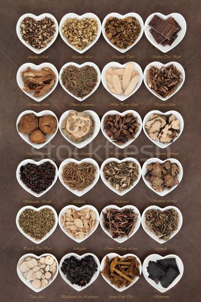 Chinese Herbal Medicine Stock photo © marilyna