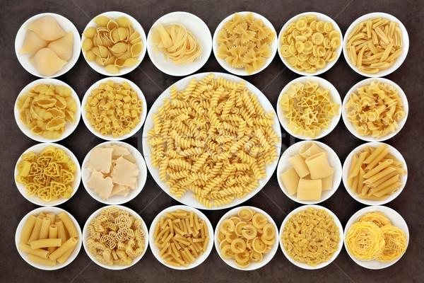 Pasta Sampler Stock photo © marilyna
