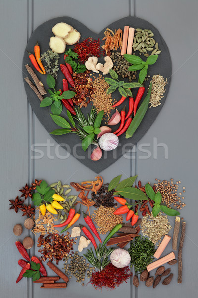 Herb and Spice Choice Stock photo © marilyna