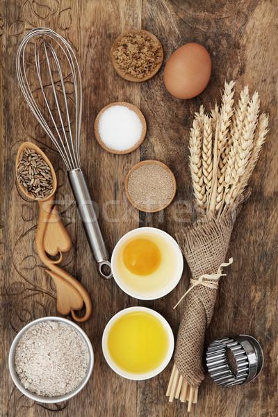 Stock photo: Baking Ingredients