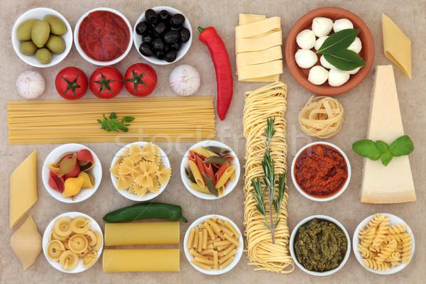 健康 のイタリア料理 コレクション 抽象的な 自然 紙 ストックフォト © marilyna