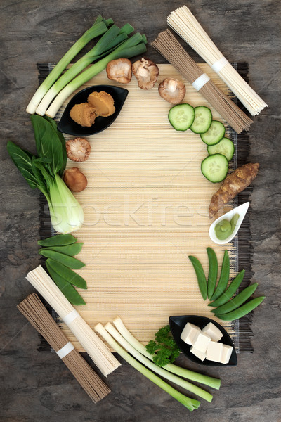 Macrobiotic Health Food Background Stock photo © marilyna