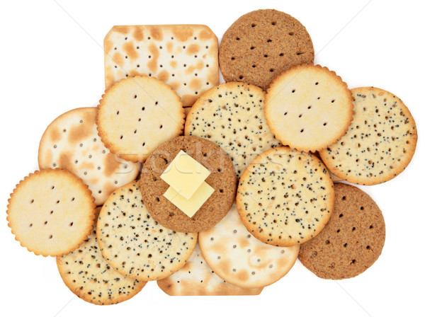 Cracker Biscuits Stock photo © marilyna