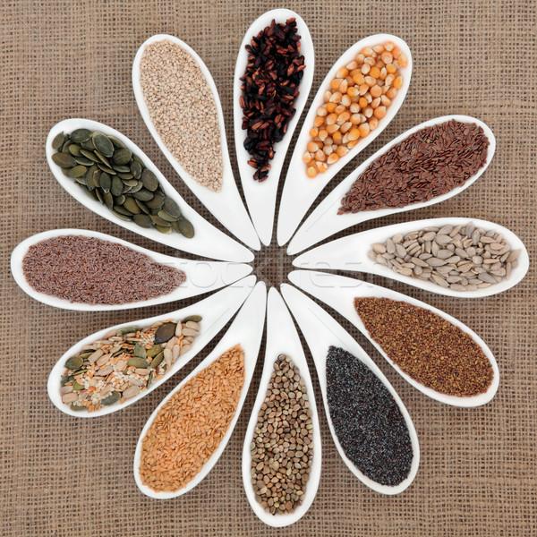 Seed Food Sampler Stock photo © marilyna