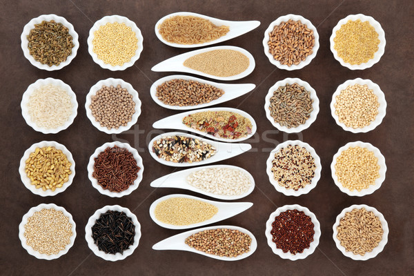 Tahıl tahıl tahıl gıda Stok fotoğraf © marilyna