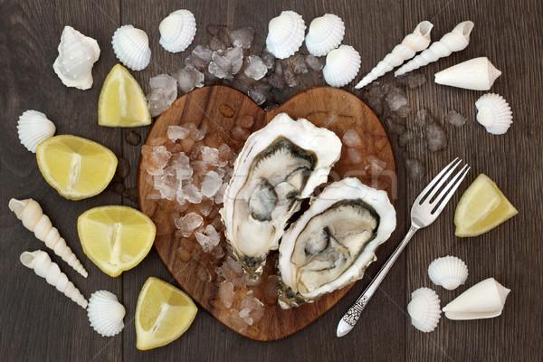Oyster Shellfish Stock photo © marilyna