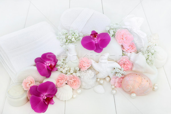 Beauty Spa Treatment Products Stock photo © marilyna