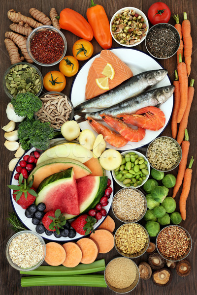 Large Health Food Sampler Stock photo © marilyna