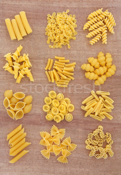 пасты продовольствие фон желтый спагетти здорового Сток-фото © marilyna