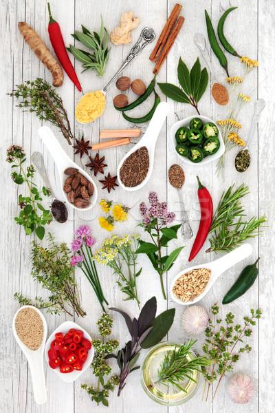 Healthy Food Seasoning Stock photo © marilyna