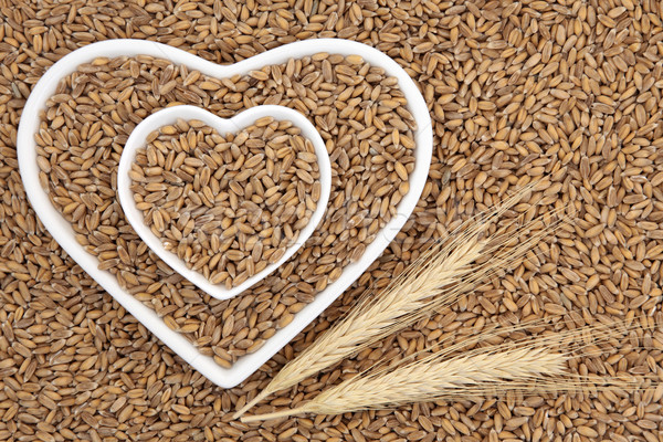 пшеницы зерна здоровья продовольствие сердце Сток-фото © marilyna
