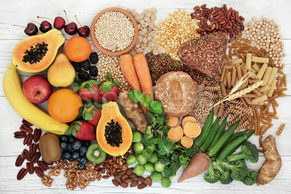 Stock photo: Food with High Fiber Content