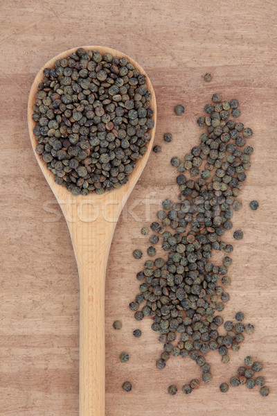 Puy Lentils Stock photo © marilyna