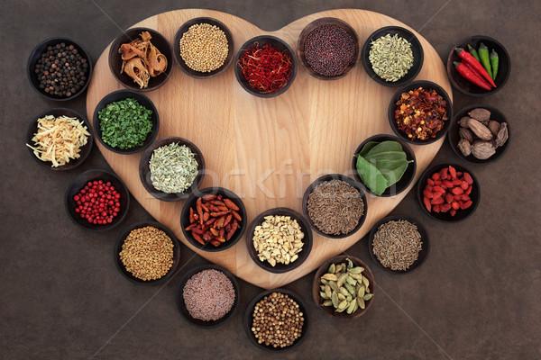 Herbs for Health Stock photo © marilyna