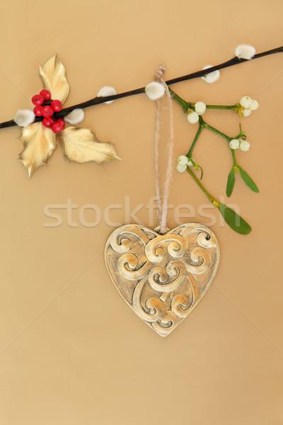 Christmas Romance Stock photo © marilyna
