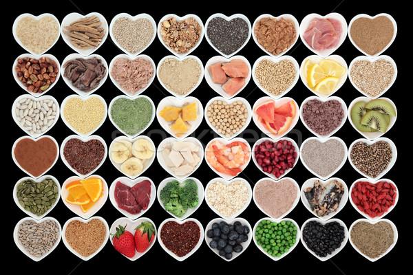 Manger bien santé élevé Photo stock © marilyna