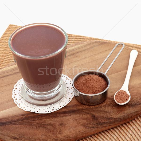 Chocolate Maca Drink Stock photo © marilyna