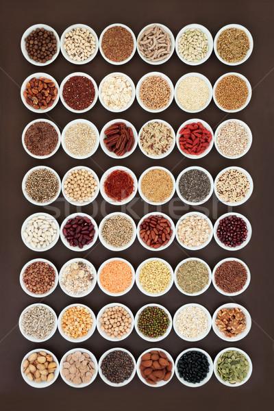 Essiccati alto fibra salute alimentare Foto d'archivio © marilyna