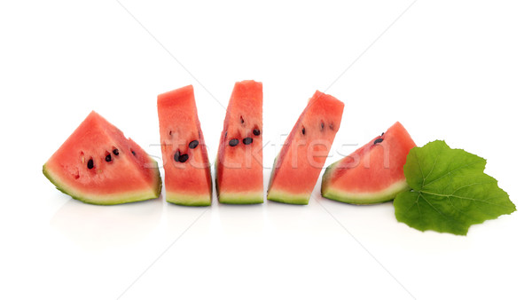 Watermelon Wedges Stock photo © marilyna