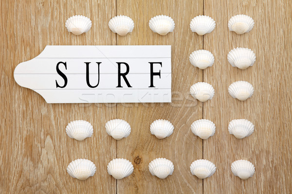 Stock photo: Surfs Up