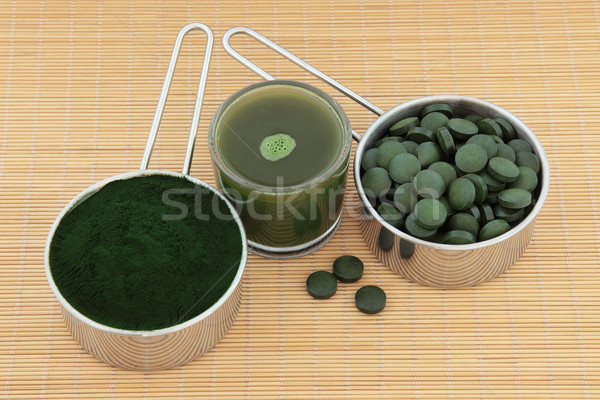 Health Food Supplements Stock photo © marilyna