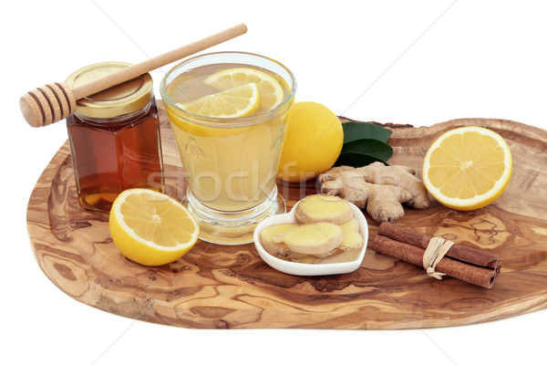Cold and Flu Cure Ingredients Stock photo © marilyna