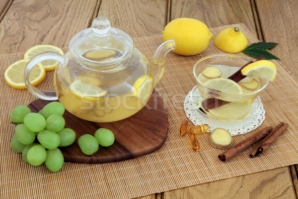 Cold and Flu Remedy Drink Stock photo © marilyna