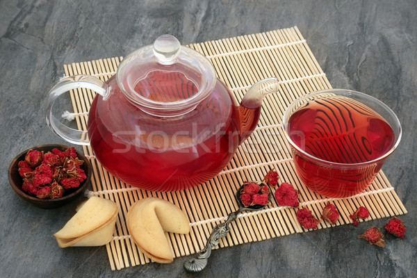Pomegranate Flower Tea Stock photo © marilyna