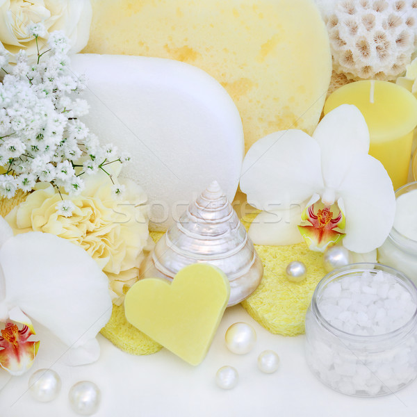Stock photo: Beauty Treatment Cleansing Products