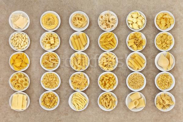 Italian Pasta Collection Stock photo © marilyna