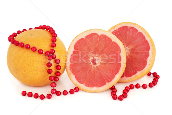 Ruby Red Grapefruit Stock photo © marilyna