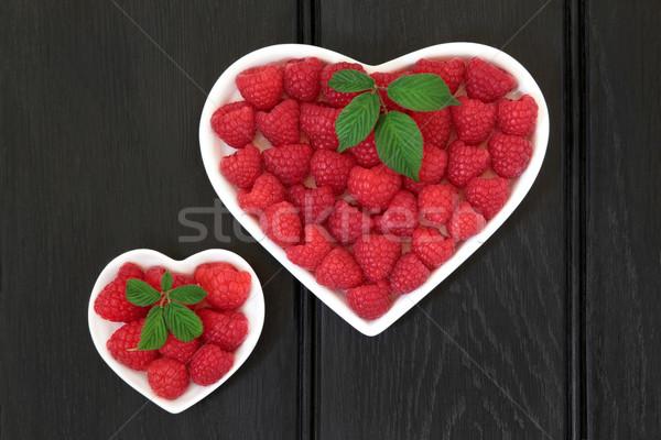 любви малиной фрукты сердце кегли Сток-фото © marilyna